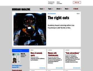 mag.uchicago.edu screenshot