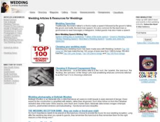 mag.weddingcentral.com.au screenshot
