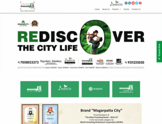magarpattacity.com screenshot