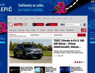 magazin.auto.cz screenshot