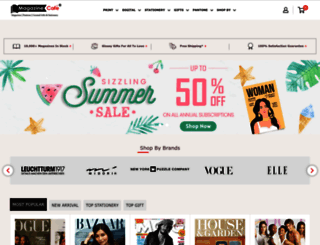 magazinecafestore.com screenshot