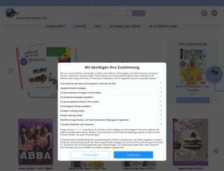 magazineshoppen.de screenshot