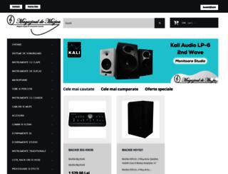 magazinuldemuzica.ro screenshot