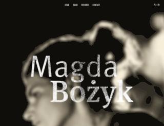 magdabozyk.com screenshot