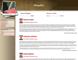 magdiarafat.com screenshot