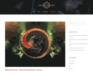 mageblade.org screenshot