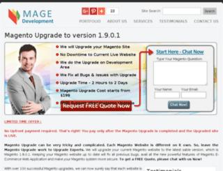 magedevelopment.com screenshot