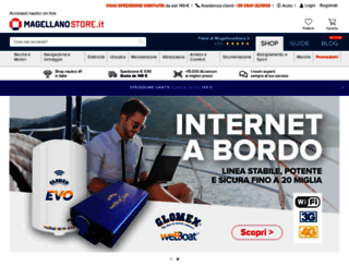 magellanostore.it screenshot