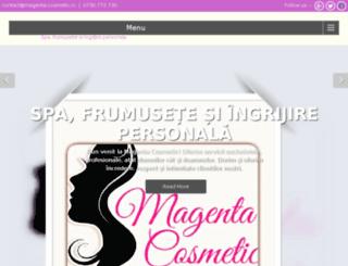 magenta-cosmetic.ro screenshot