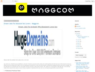 maggcomofficial.blogspot.in screenshot