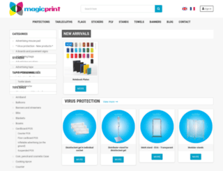 magic-printing.fr screenshot