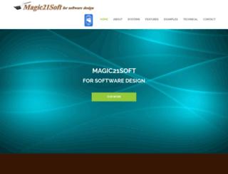 magic21soft.com screenshot