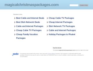 magicalchristmaspackages.com screenshot