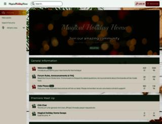 magicalholidayhome.com screenshot