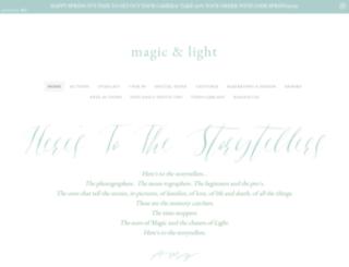 magicandlightcollection.com screenshot