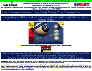 magicbaloon.com screenshot