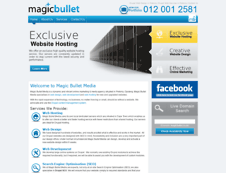 magicbulletmedia.co.za screenshot