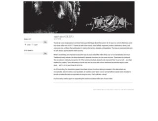 magicbulletrecords.com screenshot