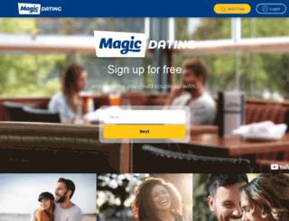 magicdating.co.uk screenshot