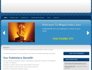 magicfinds.com screenshot