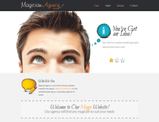 magician-agency.com screenshot