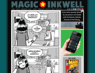 magicinkwell.com screenshot