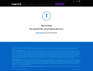 magicjacksupport.com screenshot