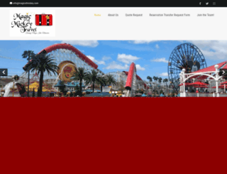 magicofmickey.com screenshot