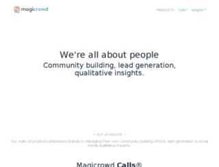 magicrowd.com screenshot