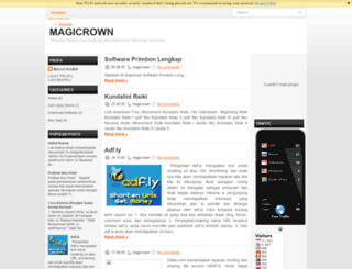 magicrown.blogspot.com screenshot
