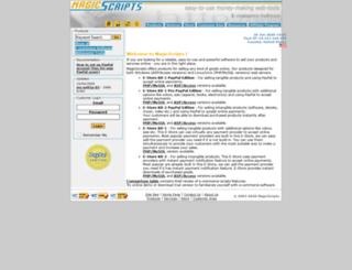 magicscripts.com screenshot