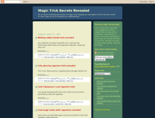 magicsecretsreveal.blogspot.com screenshot