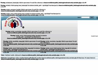 magictraderuniversity.com screenshot