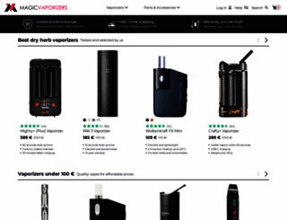 magicvaporizers.com screenshot