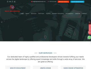 magicwebservices.com screenshot