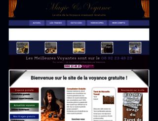 magie-voyance.com screenshot