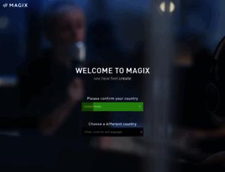 magix.net screenshot