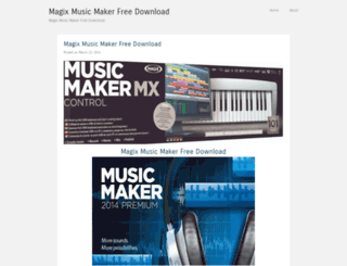 magixmusicmakerfreedownload.wordpress.com screenshot