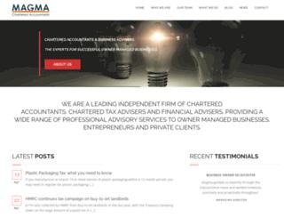 magma.co.uk screenshot