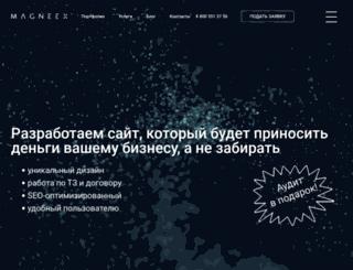 magneex.ru screenshot