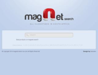 magnet-search.za.com screenshot