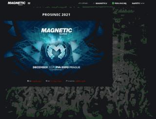 magneticfestival.com screenshot