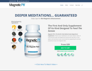 magneticpill.com screenshot