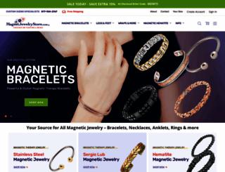 magnetjewelrystore.com screenshot