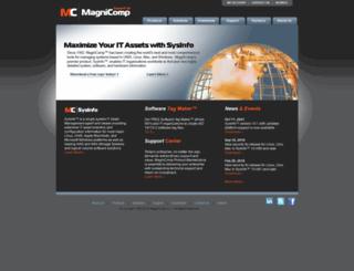 magnicomp.com screenshot