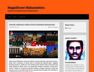 magnificentmaharashtra.wordpress.com screenshot