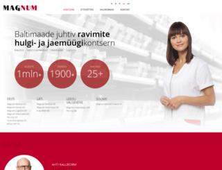 magnum.ee screenshot