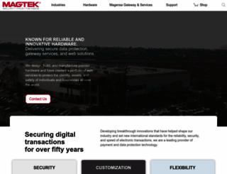 magtek.com screenshot