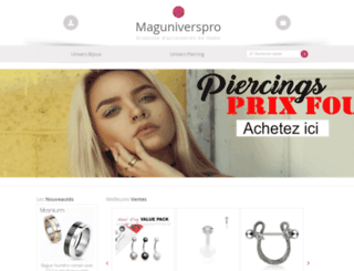 maguniverspro.com screenshot