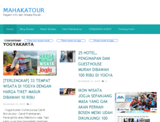 mahakatour.com screenshot